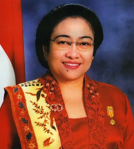 Megawati Sukarnoputri, fifth President of Indonesia 2001