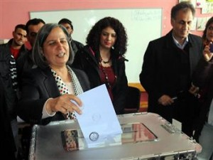 Gültan Kışanak, will succeed Osman Baydemir, who also competed in the southeastern province of Şanlıurfa in this year's elections. AA Photo